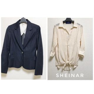 シェイナー(SHEINAR)のSHEINAR アンサンブル風シャツ goldbizジャケット おまとめ(シャツ/ブラウス(長袖/七分))