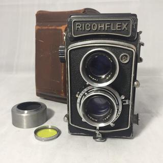 リコー(RICOH)の昭和30年代製造 2眼レフカメラリコーフレックスダイヤ(フィルムカメラ)