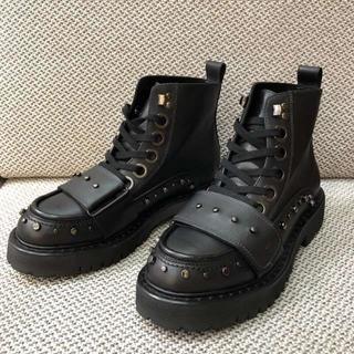 ナンバートゥエンティワン(No. 21)のNo.21 メンズ ショートブーツ レザーブーツ 26cm(ブーツ)