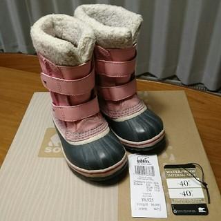 ソレル(SOREL)のmegu様専用 SOREL ジュニア スノーブーツ 15cm(ブーツ)