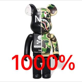 1000% BE@RBRICK BAPE NBHD SHARK ベアブリック