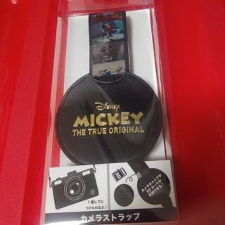 ディズニー(Disney)のディズニー ミッキー90周年カメラストラップ(その他)