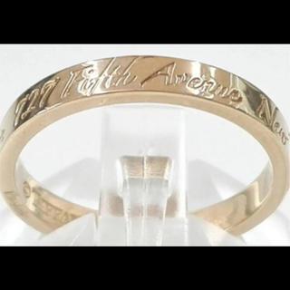 ティファニー(Tiffany & Co.)の最終値下げ!ティファニー ノーツリング k18 750 10号(リング(指輪))