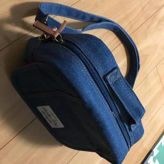 シマムラ(しまむら)のショルダータイプ☆オムツポーチ☆バースディ購入品(ベビーおむつバッグ)