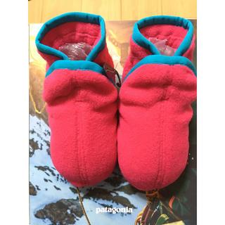 パタゴニア(patagonia)の新品 パタゴニア キッズ ルーム シューズ靴下  フリース仕様 新品(靴下/タイツ)