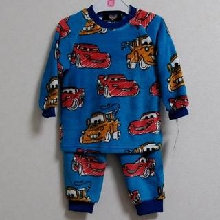 ディズニー(Disney)の新品 90㎝ ディズニー カーズ もこもこ パジャマ 総柄(パジャマ)