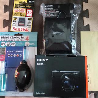 ソニー(SONY)のヨドバシカメラ 福袋 高級コンパクトデジカメの夢 Sony RX100M5(コンパクトデジタルカメラ)