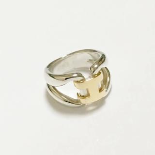 エルメス(Hermes)の新品 仕上げ エルメス ヒストリー リング 指輪 コンビ(リング(指輪))