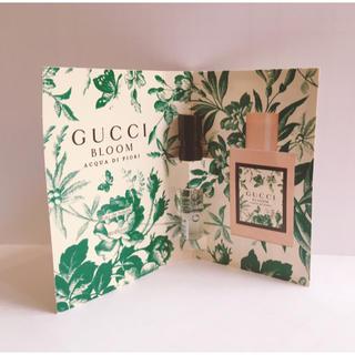 グッチ(Gucci)のGUCCI BLOOM ACQUA DI FIORI(サンプル/トライアルキット)