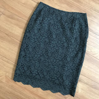 グーコミューン(GOUT COMMUN)のグーコミューン レーススカート(ひざ丈スカート)