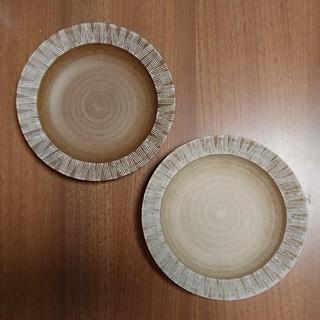 ハサミ(HASAMI)のカレー皿 パスタ皿 シャビーシック 波佐見焼き 2枚セット おしゃれ 人気(食器)