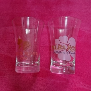アルバローザ(ALBA ROSA)のALBAROSA●大きめグラスセット●(グラス/カップ)