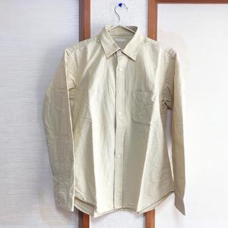 GU - クリームイエロー シャツ