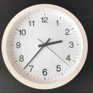 ムジルシリョウヒン(MUJI (無印良品))の無印良品 ウォールクロック 美品(掛時計/柱時計)