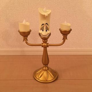 ディズニー(Disney)の新品 Disney 美女と野獣 ルミエール ランプ(テーブルスタンド)