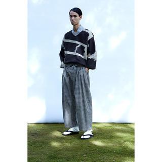 サスクワッチファブリックス(SASQUATCHfabrix.)のSasquatch fabrix hakama 袴シャツ Lサイズ(Tシャツ/カットソー(七分/長袖))