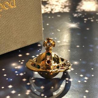 ヴィヴィアンウエストウッド(Vivienne Westwood)のVivienne ソリッドリング ゴールド L(リング(指輪))