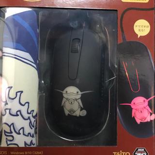 タイトー(TAITO)のファイナルファンダジーⅪⅤ 光るマウス&マウスパッド ナマズオ(PC周辺機器)