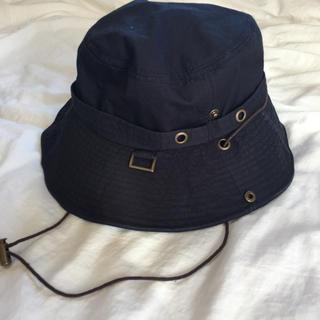 シマムラ(しまむら)のしまむら サファリハット 日焼け防止 帽子 美品(ハット)