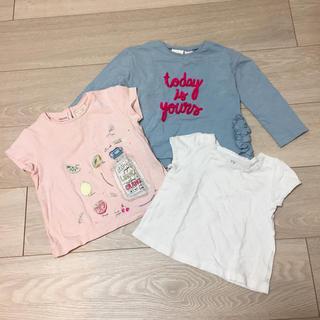 ザラ(ZARA)のZARA baby ベビー服 グレーのみ(Tシャツ)