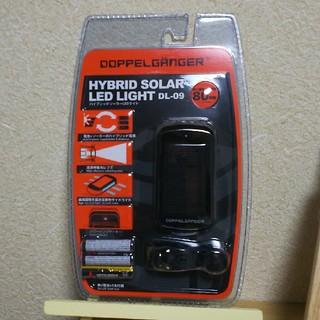 ハイブリット ソーラー LED ライト