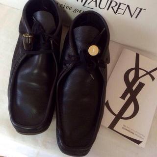 サンローラン(Saint Laurent)のサンローランレザーシューズ(ローファー/革靴)