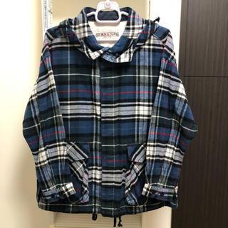 アールエヌエーエヌ(RNA-N)のRNA-N ☆ フード付きチェックシャツ(シャツ/ブラウス(長袖/七分))
