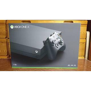 エックスボックス(Xbox)の新品 Xbox ONE X 1TB 本体(家庭用ゲーム本体)