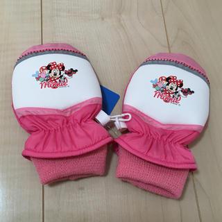 ディズニー(Disney)の未使用  手袋   ミニー  ピンク(手袋)