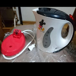 ディズニー(Disney)のミッキーマウスのケトル(電気ケトル)