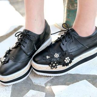 チェスティ(Chesty)の新作 chesty チェスティ Flower Platform Shoes(ハイヒール/パンプス)