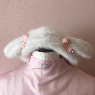 ナイルパーチ(NILE PERCH)のナイルパーチ♡うさ耳ベレー帽&リボンバレッタset(ハンチング/ベレー帽)