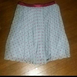 エベルモーション(EBELE MOTION)のエベルモーション プリーツスカート(ひざ丈スカート)