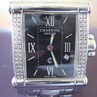 シャリオール(CHARRIOL)の紳士 ダイヤ64ポイント フィリップシャリオール コロンブス(金属ベルト)