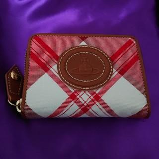 ヴィヴィアンウエストウッド(Vivienne Westwood)のヴィヴィアン・ウエストウッド 財布 タータン チェック柄 レッド×ホワイト  (財布)