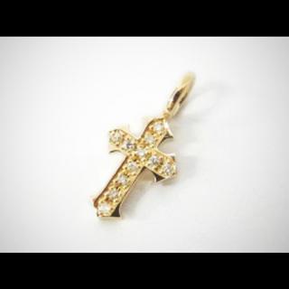 エスオーエスエフピー(S.O.S fp)の美品 人気商品 シンパシーオブソウル  リトルクロスペンダント k10(ネックレス)