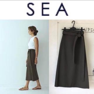 シー(SEA)の1/8 2.5→2.3万 SEA スカート(ひざ丈スカート)