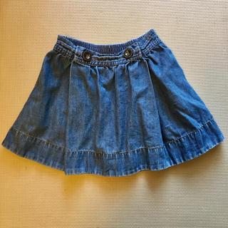 ジーユー(GU)のGU キッズ フレアスカート 110cm(スカート)