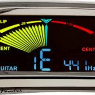フェンダー(Fender)のクリップチューナー!!(アコースティックギター)