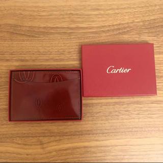 カルティエ(Cartier)のカルティエ☆ハッピーバースデイ カードケース(名刺入れ/定期入れ)