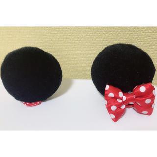 ディズニー(Disney)のディズニー ミニーの耳パッチン(ヘアピン)