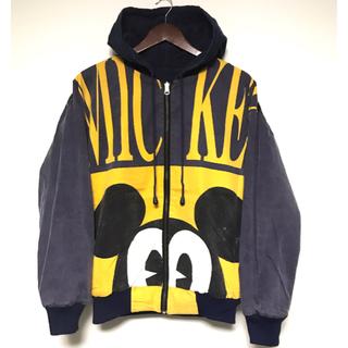 ディズニー(Disney)のミッキー リバーシブルジャケット(ブルゾン)