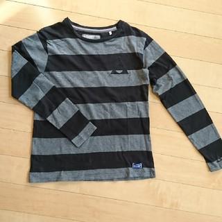 ジェリー(GERRY)のGERRY ボーダーカットソー L(Tシャツ/カットソー(七分/長袖))