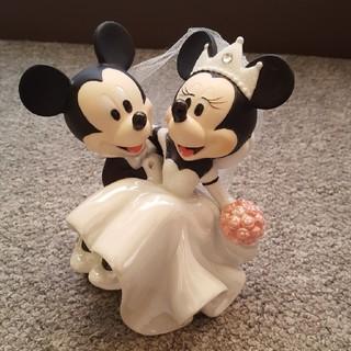 ディズニー(Disney)のディズニー ウェディング 置物(置物)