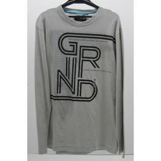 グラインド(GRIND)の*0613・GRIND グラインド 長袖Tシャツ グレー Mサイズ 未使用品(Tシャツ/カットソー(七分/長袖))