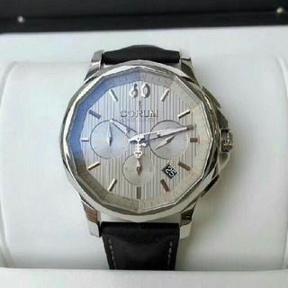 コルム(CORUM)のコルム CORUM アドミラル/クロノグラフ腕時計 メンズ 自動巻き SS腕時計(腕時計(アナログ))