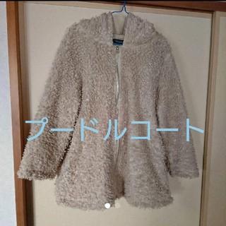 シマムラ(しまむら)の大きいサイズ プードルコート 4L(毛皮/ファーコート)