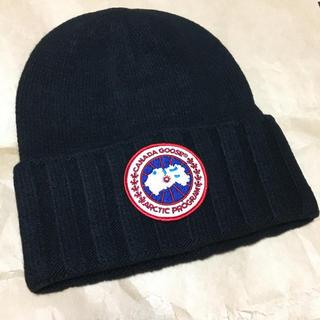 ニット帽 新品 カナダグース(ニット帽/ビーニー)