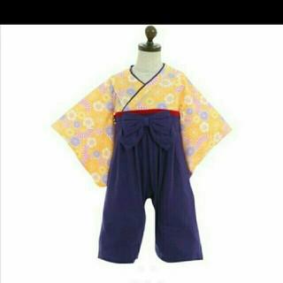 袴ロンパース 70,80,90(和服/着物)
