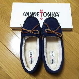 ミネトンカ(Minnetonka)の【新品】ミネトンカ☆モカシンシューズ(スリッポン/モカシン)